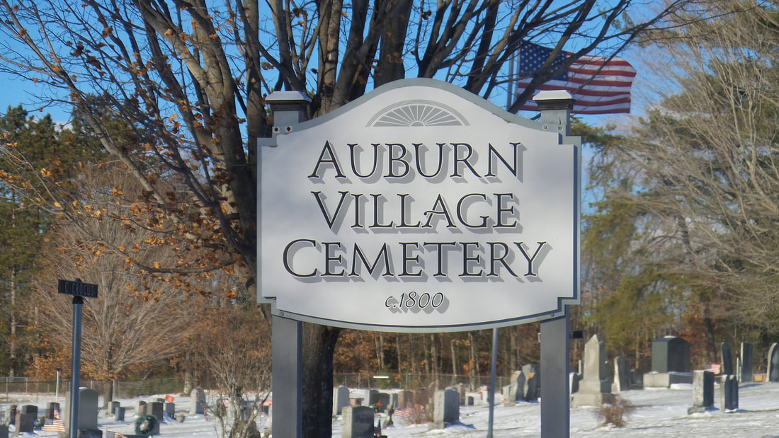 Cemeteries Auburn New Hampshire Historical Association